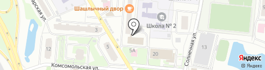 Мос-центр на карте Одинцово
