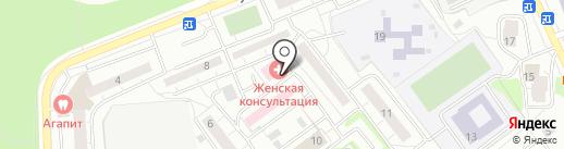 Женская консультация на карте Одинцово