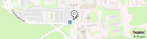 Автостоянка на карте Нового