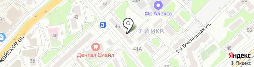 Одинцовское районное общество охотников и рыболовов на карте Одинцово