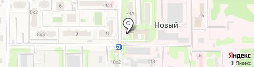 Продовольственный магазин на карте Нового