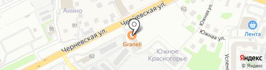 Салхино на карте Красногорска