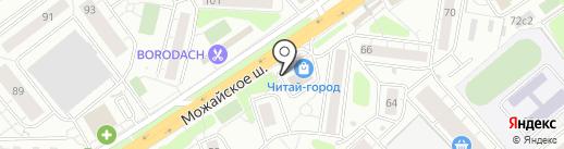 Южин на карте Одинцово