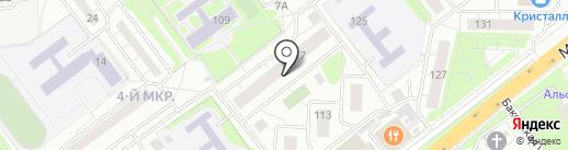 Филиппок на карте Одинцово