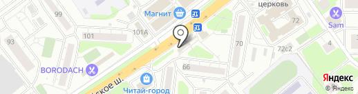 Амстердам на карте Одинцово