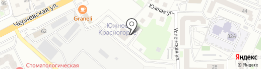 Солид на карте Красногорска