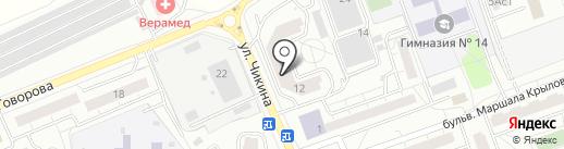 El Paradais на карте Одинцово