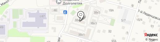 Лесорт на карте Химок