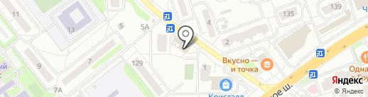 Комстар на карте Одинцово
