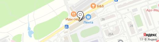 Кит на карте Одинцово