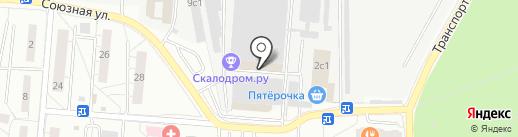 Московский насосный завод на карте Одинцово