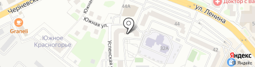Элингва на карте Красногорска