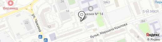 Мировые судьи Одинцовского района на карте Одинцово