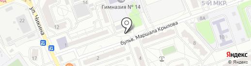 Мультипроцессинг КИТ на карте Одинцово