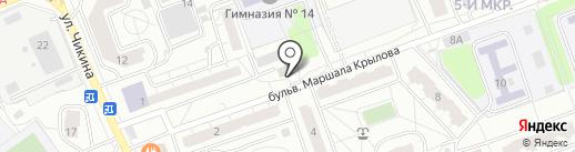 КОМОК 50 на карте Одинцово