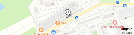 ПИВТОРГ на карте Одинцово