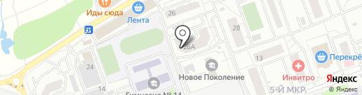 Левада ТГ на карте Одинцово