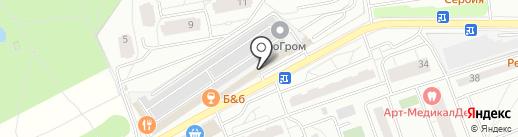 Каори на карте Одинцово