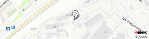 Автобай на карте Одинцово
