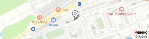 Чудеево на карте Одинцово