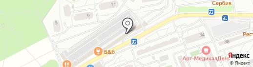 Ассорти на карте Одинцово