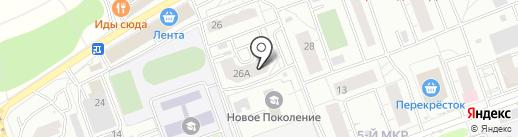 ЮлиАнна на карте Одинцово
