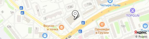 Весело шагать на карте Одинцово