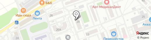 Геоинтер на карте Одинцово