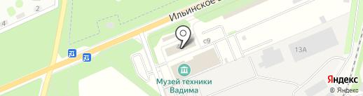 ТРАСКО на карте Архангельского