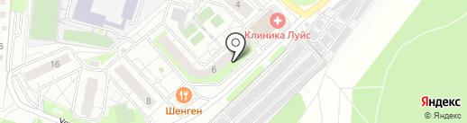Успенская 6, ТСЖ на карте Красногорска