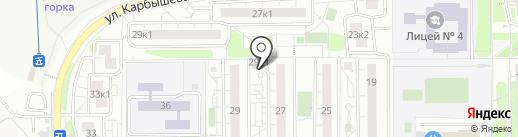 Магазин женской одежды на карте Красногорска