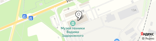 ОптимумХим на карте Архангельского