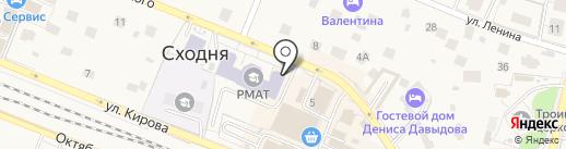 Профмед на карте Химок