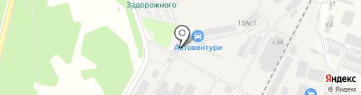 Векта 21 век на карте Архангельского