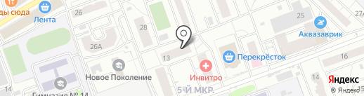 Алёна на карте Одинцово