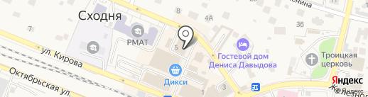 Тианде на карте Химок