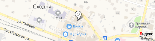 Комильфо на карте Химок