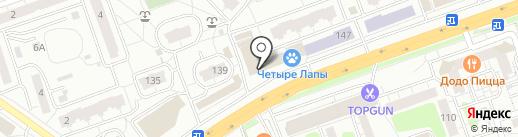 Гулливер на карте Одинцово