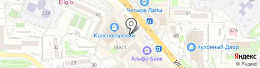 ЛИДЕР ШАР на карте Красногорска