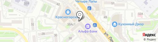 Лига Ставок на карте Красногорска