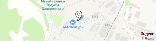 Забудова Строй Комплект на карте Архангельского