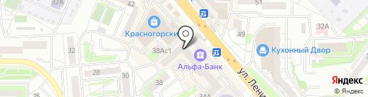 Элком Сервис на карте Красногорска