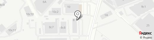 Медэкс Энерго на карте Одинцово
