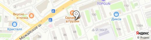 Графика Стиля на карте Одинцово