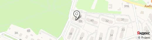 Архангельская амбулатория на карте Архангельского