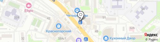 CyberPlat на карте Красногорска