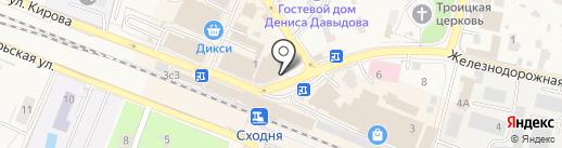 ЖТК на карте Химок