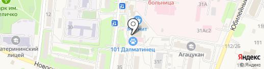 Магнит Косметик на карте Химок