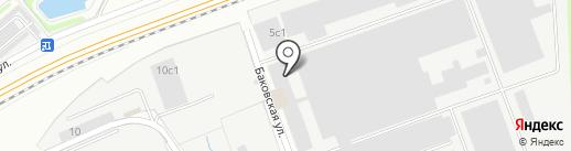 Профкомплекс на карте Одинцово
