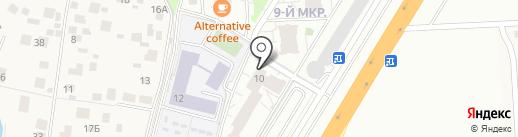 Универсал на карте Одинцово